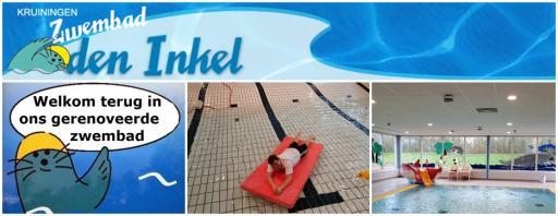 1 euro korting per persoon bij zwembad Den Inkel