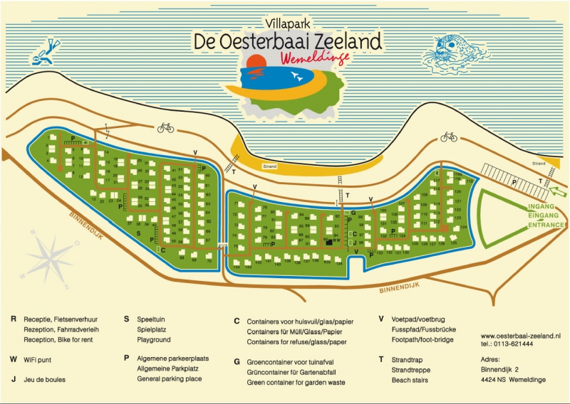 Plattegrond Oesterbaai A4 pdf